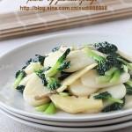 塔菜炒年糕(上海人过年必吃主食)