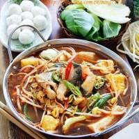 韓式辣醬湯鮮魚火鍋