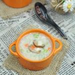 香菇鸡肉粥(节后调养肠胃的一碗粥)