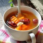 米酒南瓜红枣汤(女人冬季补气养血暖身滋补汤)