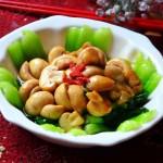 鲜菇扒油菜(春节年菜)