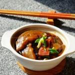 腐乳茄子煲(素菜)