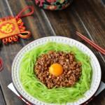 杂酱莴笋丝(经典湘菜--营养丰富、脆嫩爽口)