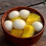 番薯汤圆姜糖水(元宵节汤圆菜谱)