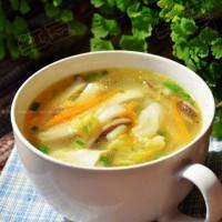 大白菜三絲豆腐湯