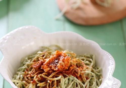 蔬菜面(自制面条)