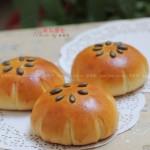 南瓜面包(烘培菜谱)