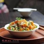 蚝油焖南瓜(微波炉菜谱)