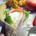 火腿鸡蛋卷(十分钟给孩子做充满能量的冬日早餐)
