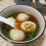 三鲜汤圆(元宵节菜谱)