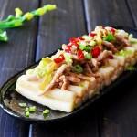 榨菜肉丝炒年糕(早餐菜谱)
