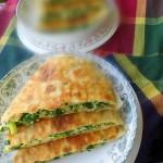韭菜大馅盒子(电饼铛菜谱)