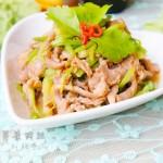 芹菜肉丝(春天养生菜-荤素搭配)