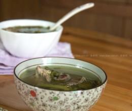 西洋菜陈肾生鱼汤和西洋菜煲鲫鱼