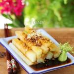 白灼芥兰(凉拌菜谱)