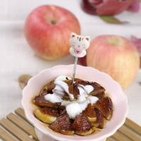 紅糖煎蘋果