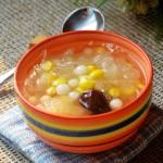 珍珠玉米銀耳羹(女人春季滋補養顏,排毒潤燥的養生湯)