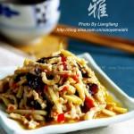 鱼香肉丝(川菜)