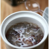 紅豆燉雪蛤
