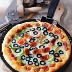 腊肠黑橄榄披萨(烘培菜谱)