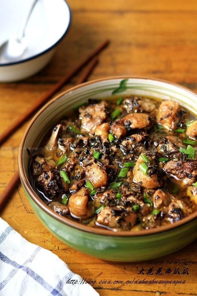 梅干菜蒸鸡
