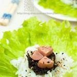 橄榄火腿菜包饭(春游便当餐)