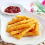 自制美味薯条(零食)