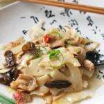 莲菜炒肉片(陕西菜)