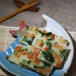 香煎虾米肠(中式点心)