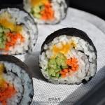 咸蛋寿司(便当菜谱)