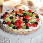 鲜奶油水果蛋糕(烘培菜谱)