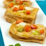 红烧千页豆腐(素食)