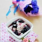 蓝莓甜豆花(豆浆机菜谱)