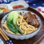 红烧肉手工拉面(早餐菜谱--红烧肉制作技巧)