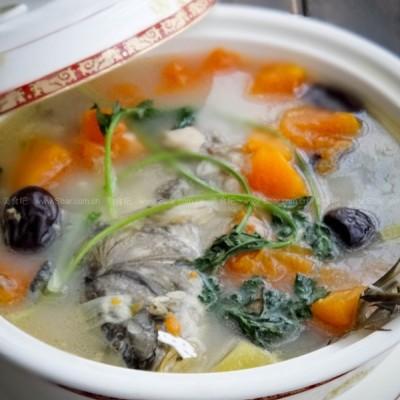 木瓜鲤鱼煲