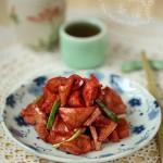 南乳春筍(素菜)