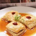 韭菜猪肉酿豆腐(美味营养下饭菜)