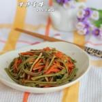 凉拌香椿(春季小菜)