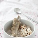 薏米莲藕排骨汤(健脾益胃又补血养颜)