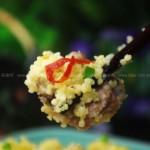 小米蒸排骨(清蒸菜)