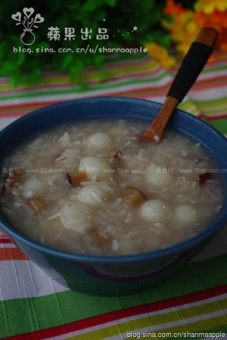 甜酒糯米圆子粥
