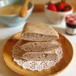 黑芝麻面饼(10分钟营养早餐)