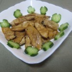 蜜汁杏鲍菇(素菜)