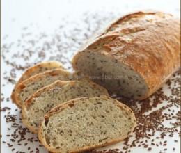 亚麻籽面包