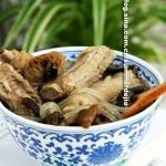 排骨炖榛蘑(东北菜)