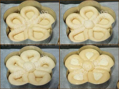 花形奶酪包