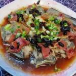 火腿蒸鳗鱼(清蒸菜)