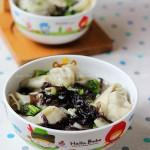 荠菜虾仁馄饨(春日早餐菜谱)