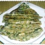 清明荞菜饼(清明应节食品)