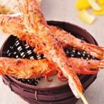 柚子盐纸上烤虾(春日郊游野餐烧烤)